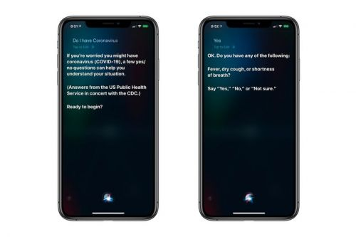 Apple Equips Siri With Coronavirus Symptoms Questionnaire