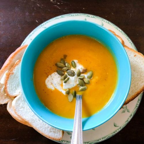 Instant Pot Butternut Squash Soup
