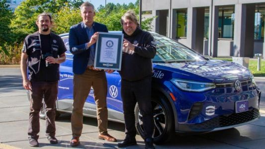 A Volkswagen ID.4 Just Finished A World Record-Setting Road Trip