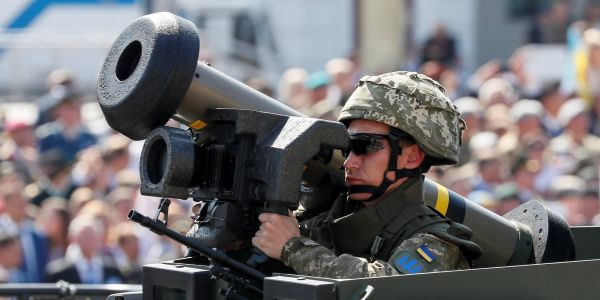 There's a huge loophole in the GOP's claim that Trump's sale of Javelin missiles to Ukraine shows his support for the country