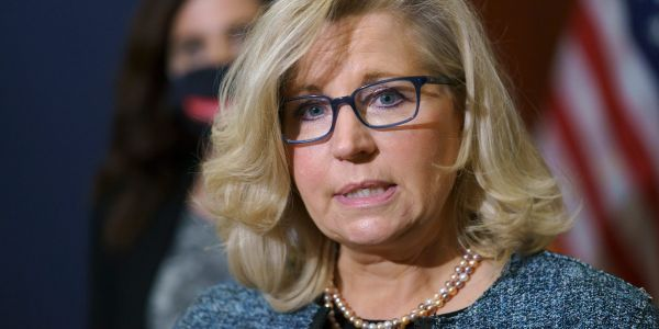 Liz Cheney smacked GOP Rep. Jim Jordan's hand away when he tried to escort her during the Capitol riot, telling him 'You f--ing did this,' book says