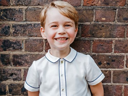 Britain's Prince George turns five