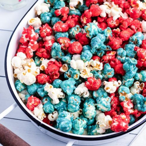 Red White Blue Caramel Corn