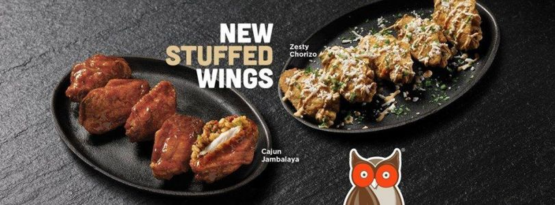 Hooters Launches Stuffed Wings Exclusively Available Through DoorDash