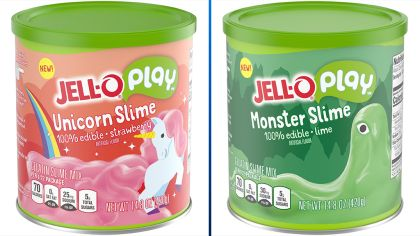 Eat And Play: Jell-O Introduces Its First Edible Slime