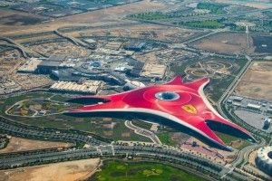 Ferrari World Abu Dhabi wins the title of Middle East's Leading Theme Park 2017