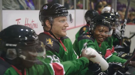 Kenya's ice hockey team gets treated to game in Canada, joined by NHL players