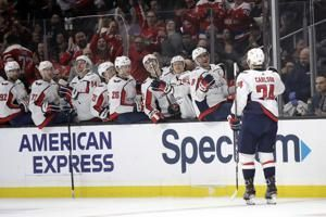 Carlson, Capitals down Kings 3-1 for fifth straight win