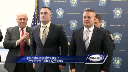 Manchester police swears in two new officers