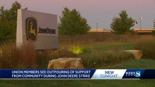 Donations pour in from community for John Deere union workers on strike in Ankeny