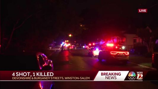 One person is dead and three others are hurt after shooting in Winston-Salem