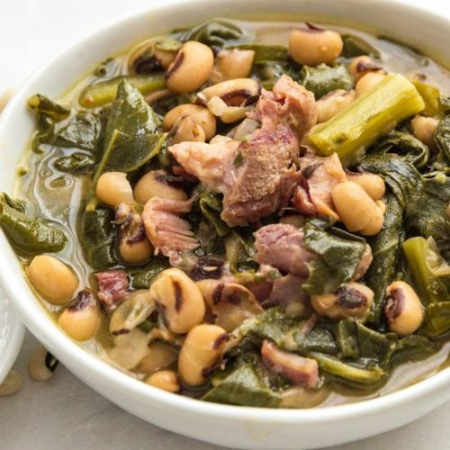 Southern Style Beans and Greens
