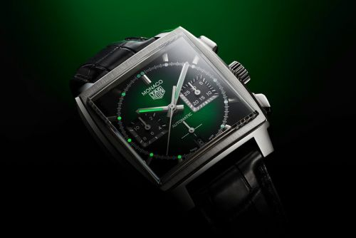 TAG Heuer drops Green Dial Monaco to Mark Grand Prix Historique