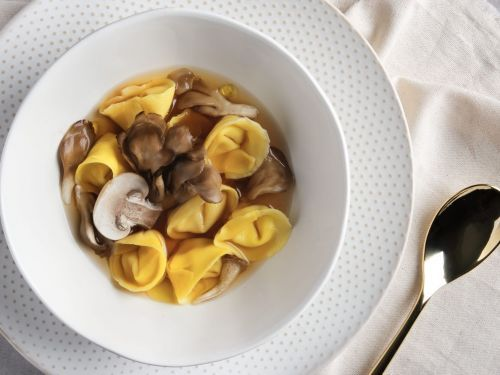 A Tortellini en Brodo Recipe That Packs an Umami Punch
