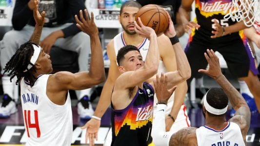 NBA Twitter reacts to Devin Booker's 40-point triple-double vs. Clippers: 'So special'
