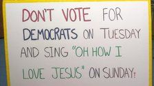 Florida Church Ditched As Polling Site Over Sign Telling Christians Not Vote For Democrats