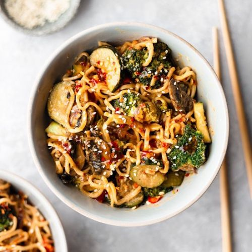 Spicy Sweet Chilli Noodles