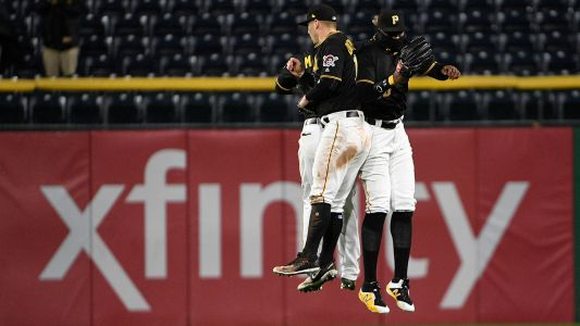 Watch: Pirates turn wild 1-3-4-2-5-8-7 double play