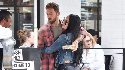 Nikki Bella and Boyfriend Artem Chigvintsev Pack on the PDA on a Lunch Date in L.A
