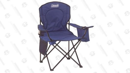 Plant Yourself Outside With This $20 Coleman Chair, Complete With Built-In Cooler