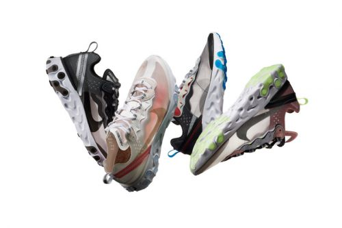 Nike Officially Reveals the React Element 87 and Its Drill-to-Foam Design Process