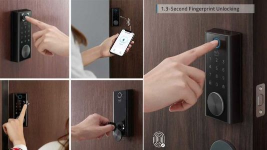 Protect Your Space With a Eufy Smart Touch Lock, 20% Off