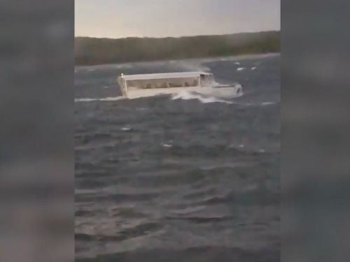 A Missouri duck boat survivor reportedly said the captain told passengers 'not to worry about grabbing life jackets'
