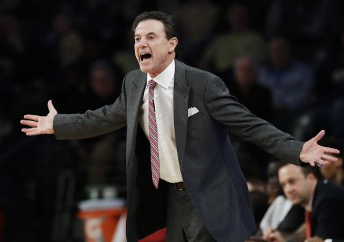 Embattled Louisville coach Rick Pitino could learn his fate Monday