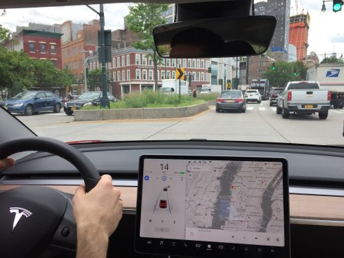 I tried Tesla's Autopilot for the first time - and it was nerve-racking at first