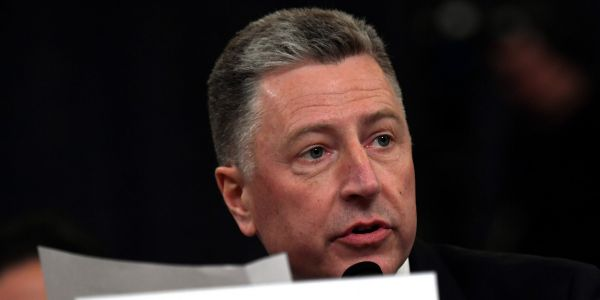 Kurt Volker completely reverses his previous impeachment testimony and now says he thought discussions about political investigations were 'inappropriate'