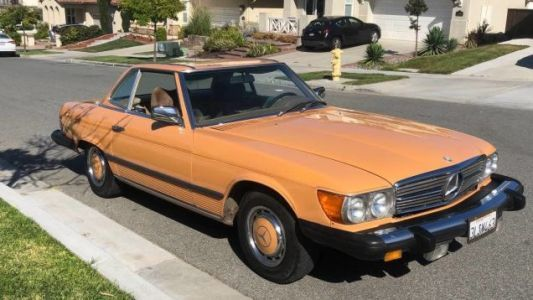 At $7,999, Is This Cayenne Orange 1976 Mercedes 450SL Ripe For The Picking?