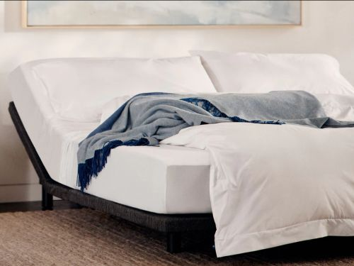 I switched to a Casper adjustable bed frame - and it relieved both my swollen legs and nighttime indigestion