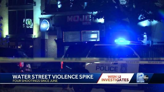 Four shootings happened on or near Water Street since June