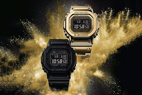 """G-SHOCK Adds New Models to Its """"Full Metal"""" 5000 Collection"""