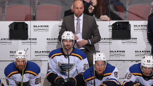 Blues fire Mike Yeo, name Craig Berube interim coach