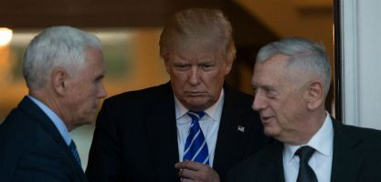As Expected, 'Mad Dog' Mattis Reportedly Trump's Secretary of Defense Pick