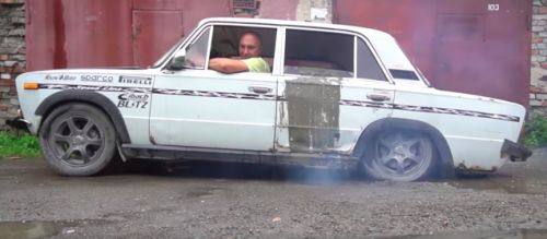 Filling A Car With Five Tons Of Concrete Is The Best Way To Kill A Clutch