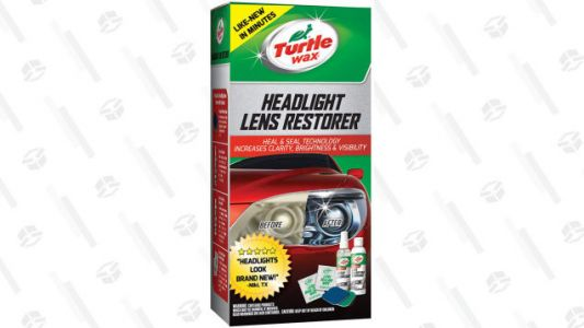 Restore Those Dusty Headlights With This Trusty Turtle Wax Kit