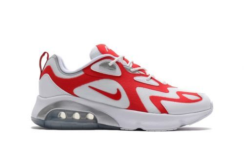 "Nike to Release Air Max 200 in ""White/University Red"" Colorway"
