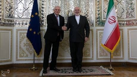 EU's Borrell warns Iran triggered nuclear-deal dispute mechanism. Yep, and for the sixth time, Iran's Zarif adds