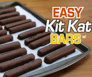 Easy Kit Kats | Only 2 Ingredients