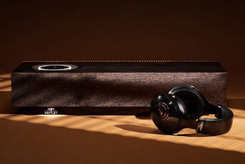 Bentley's Naim Mu-So Home Speaker and Focal Radiance Heaphones Are Next-Level Luxury