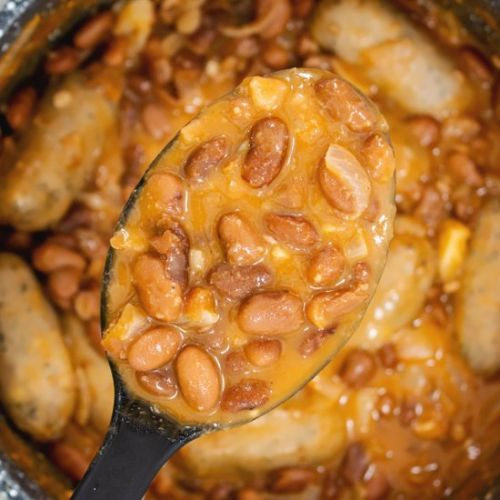 Canned Pinto Beans and Rice with Sa