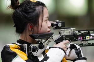 China's Yang wins 1st gold of Tokyo Olympics in air rifle