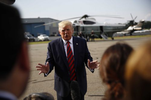 Trump dismisses worries of recession, says economy is strong