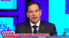 Marco Rubio Warns Trump: It Would Be A 'Terrible Mistake' To Pardon Paul Manafort