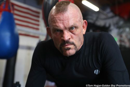 Video: Tito Ortiz heckles 'junk' Chuck Liddell during open workout