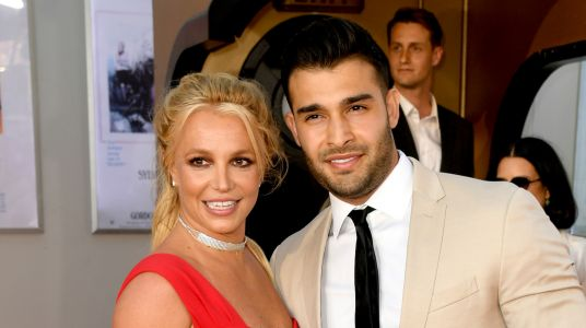Britney Spears Wears a Ring on *That* Finger During First Red Carpet With Boyfriend Sam Asghari