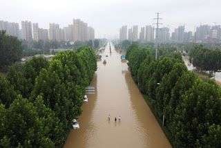 U.S. Voices Concern Over Harassment of Media Covering China Floods