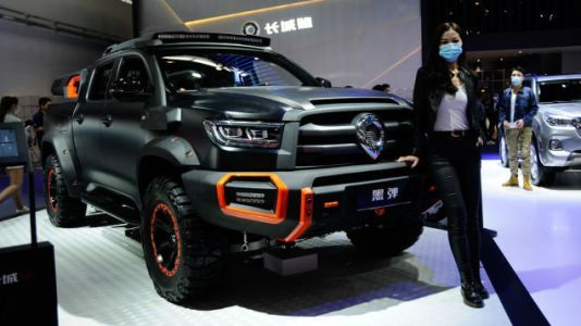 This Chinese Pickup Truck Looks Like An Evil Lux Overlander